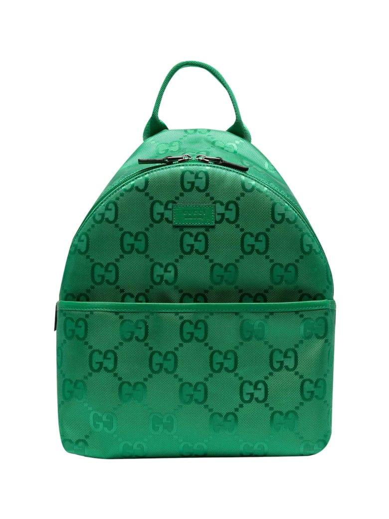 Gucci Green Backpack - Verde