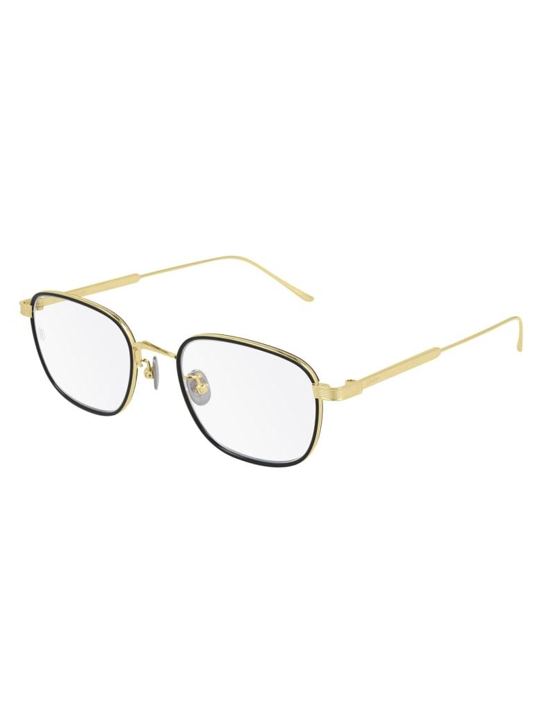 Cartier Eyewear CT0260O Eyewear - Gold Gold Transparent