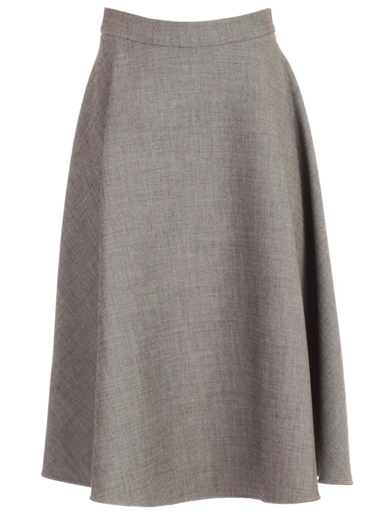 Ports 1961 Skirt A Line - W White And Black