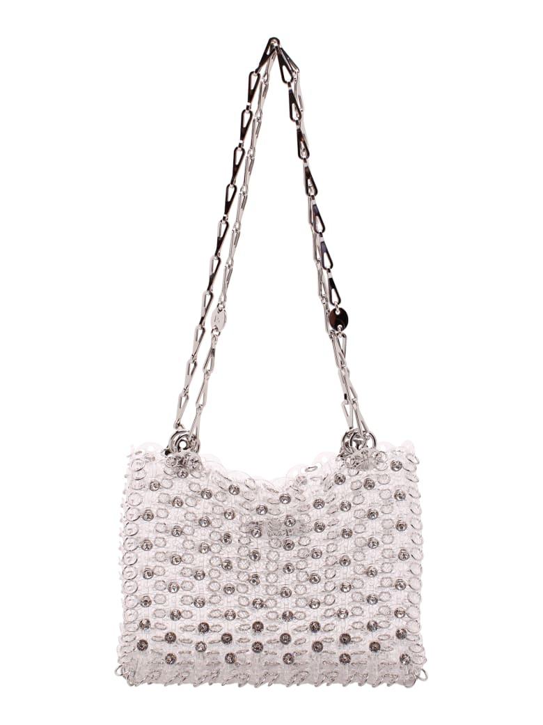 Paco Rabanne Polycarbonate Shoulder Bag - Trasparent