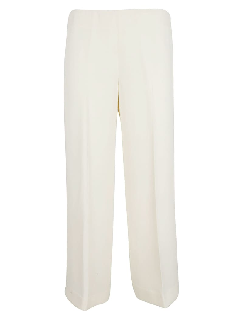 Theory Cropped Trousers - Ivory