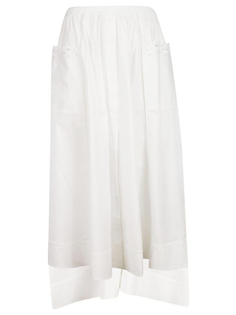 Ermanno Scervino High Low Skirt - White