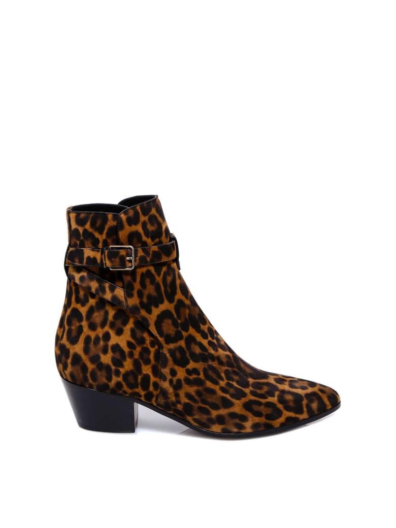 Saint Laurent Ankle Boots - Brown