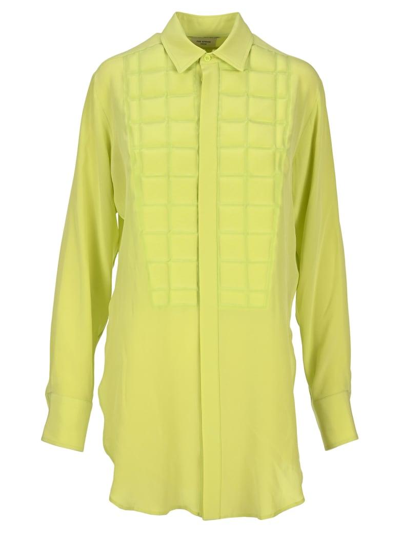 Bottega Veneta Padded Shirt - LIME