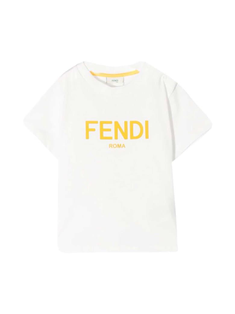 Fendi White T-shirt - Gesso