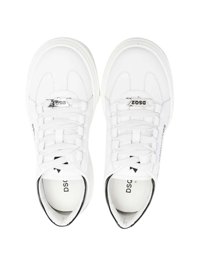 Dsquared2 White Sneakers .