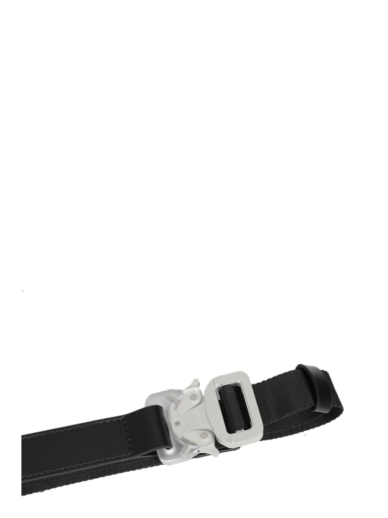 1017 ALYX 9SM Double Buckle Mixed Nylon - Nero