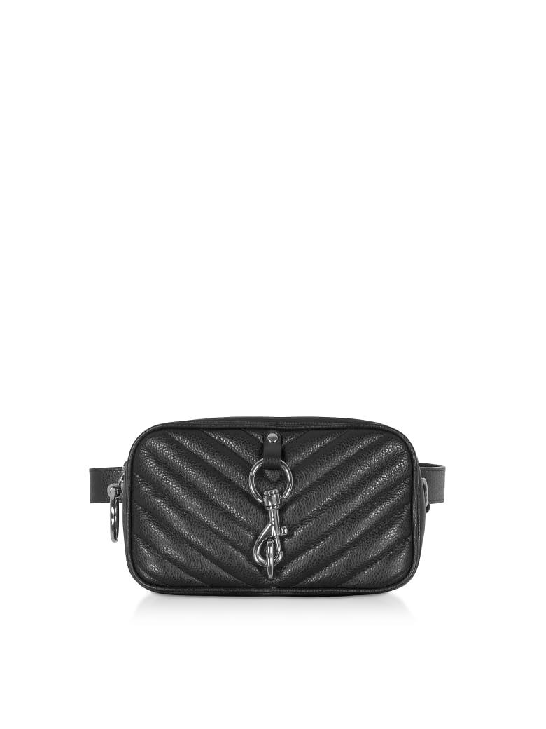 Rebecca Minkoff Pebbled Leather Camera Belt Bag - Black