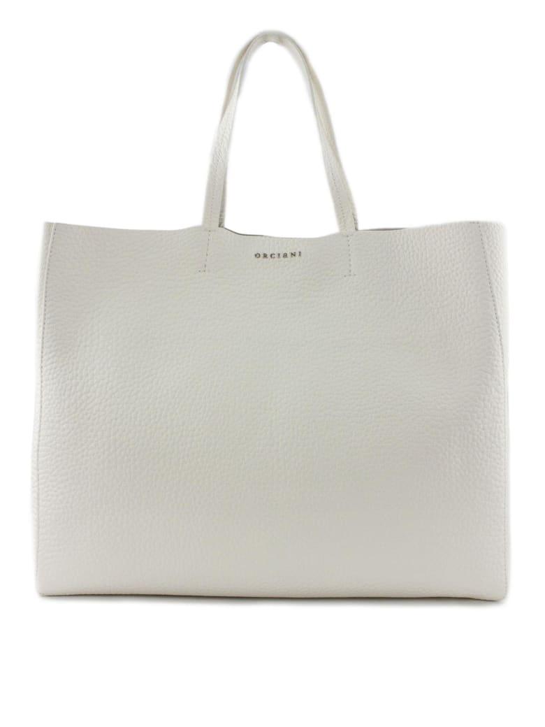 Orciani Le Sac Soft White Tote Bag - Bianco