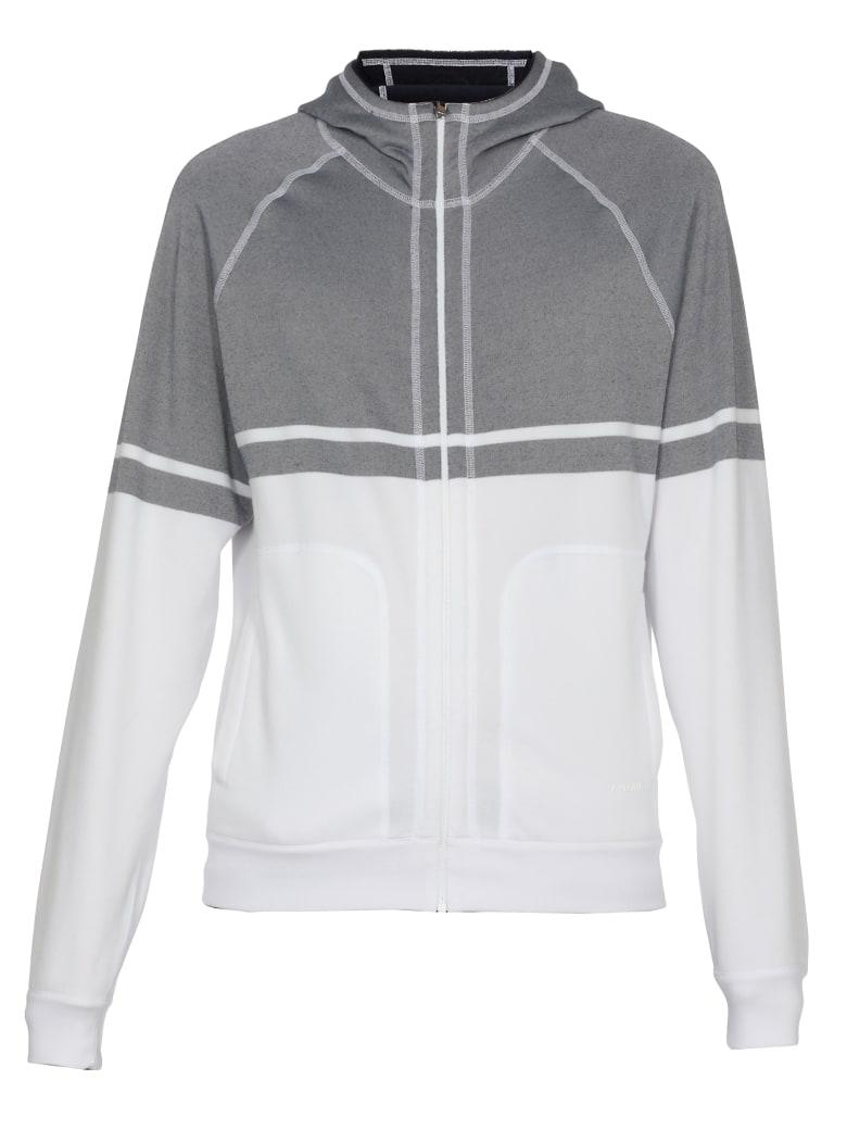 Ermenegildo Zegna Reversible Sweatshirt - WHITE/BLUE