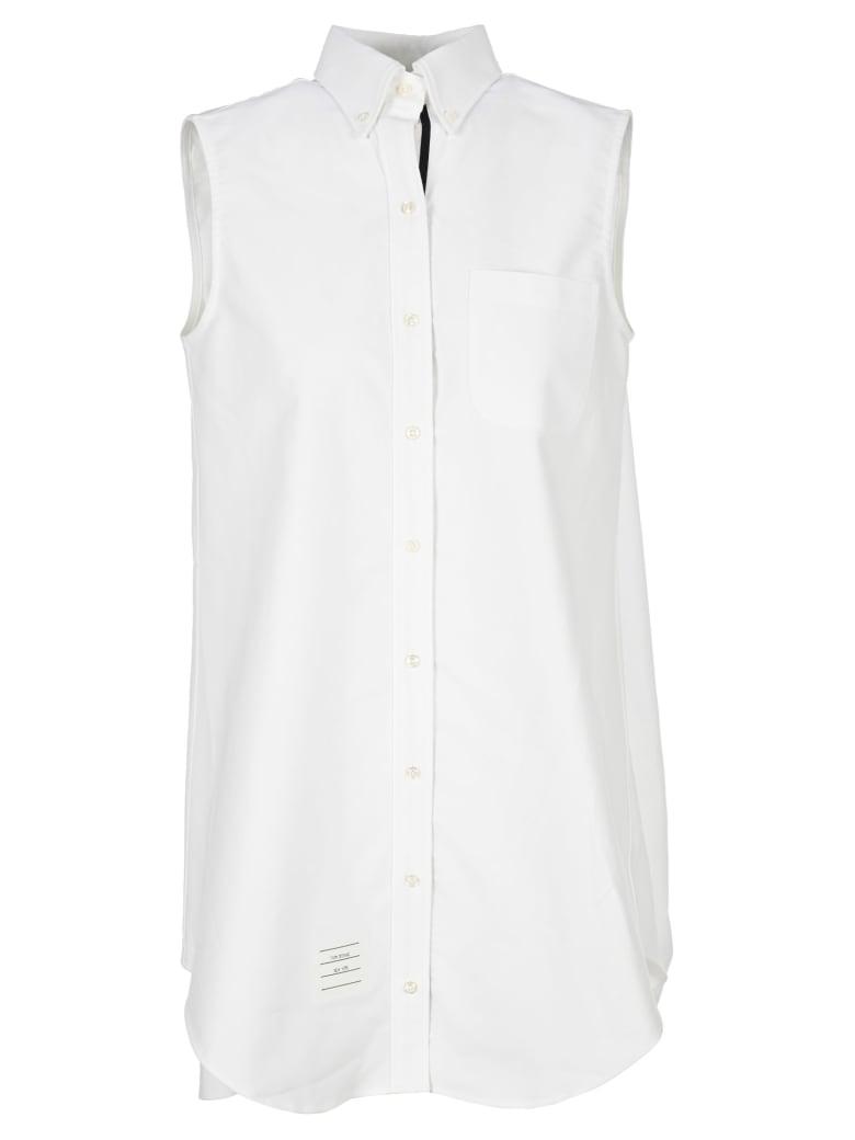 Thom Browne Shirt Dress - White