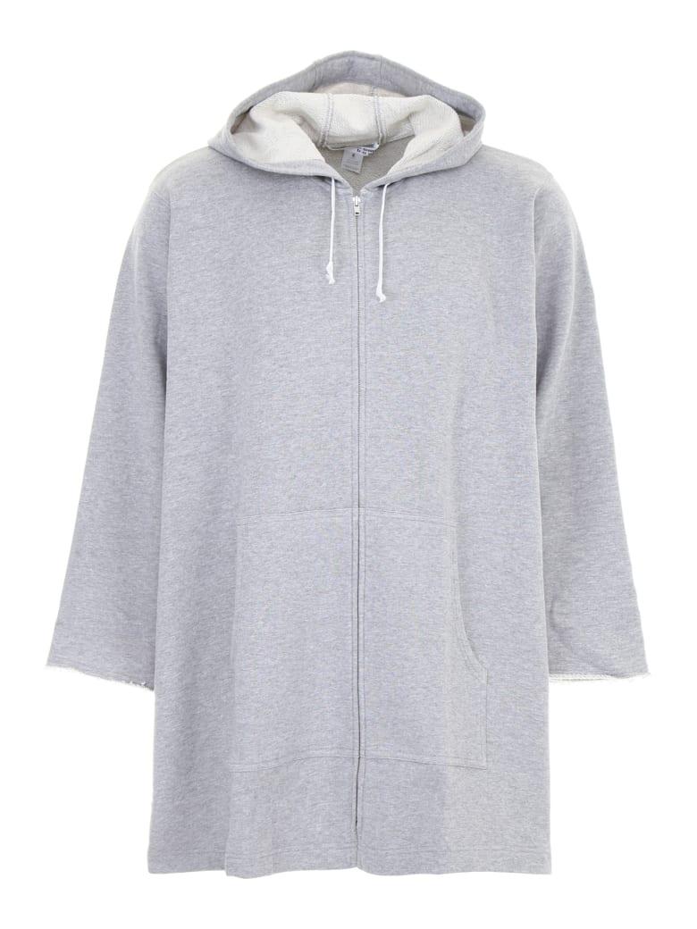 Comme des Garçons Shirt Boy Oversized Hoodie - LIGHT GREY (Grey)