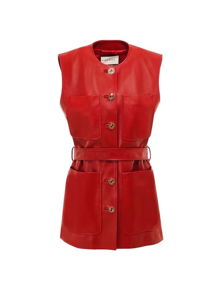 Gucci Vest - Red