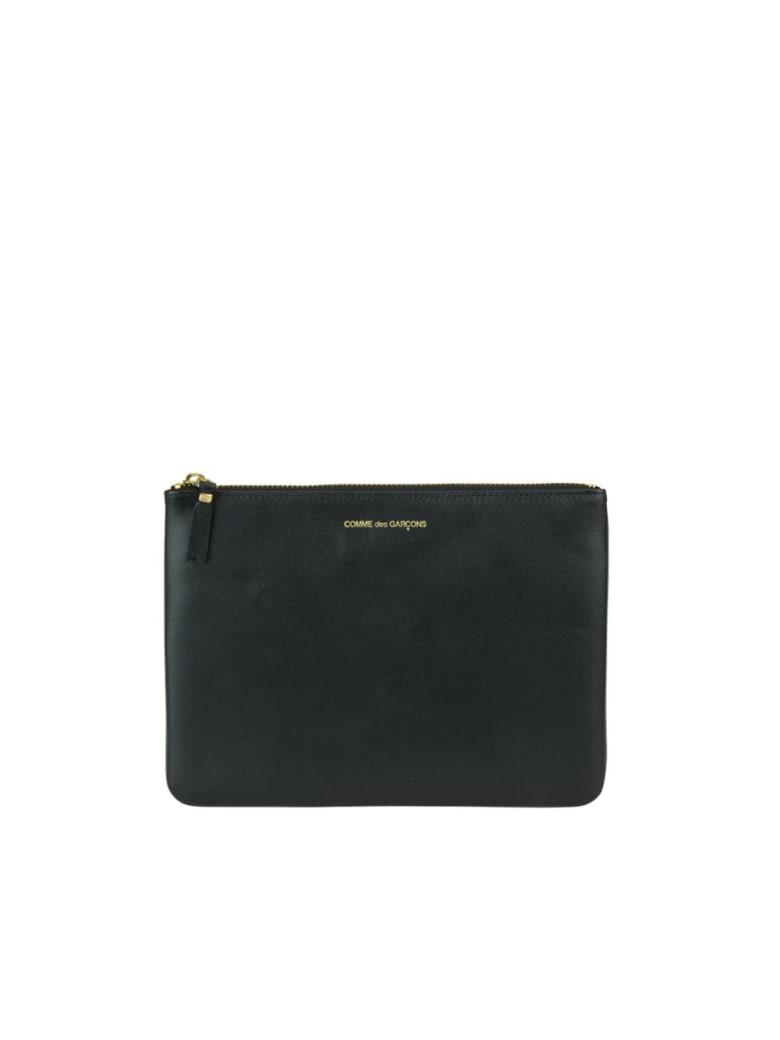 Comme des Garçons Wallet Classic Leather Line Wallet - Black