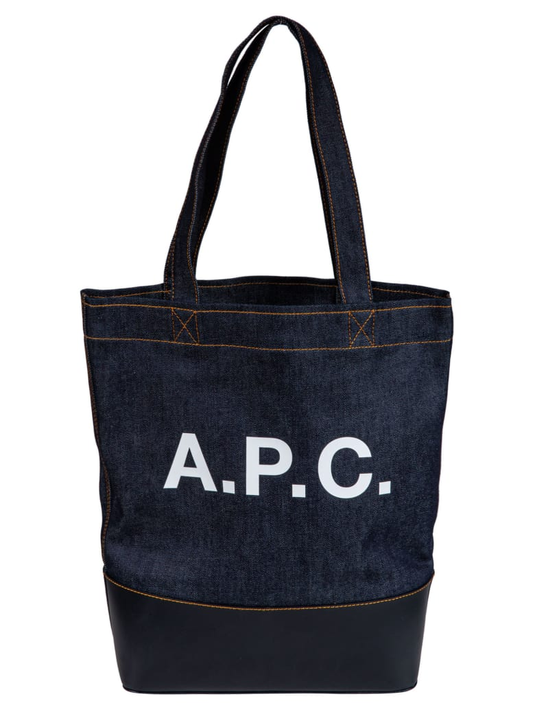 A.P.C. Axelle Tote - Dark Navy