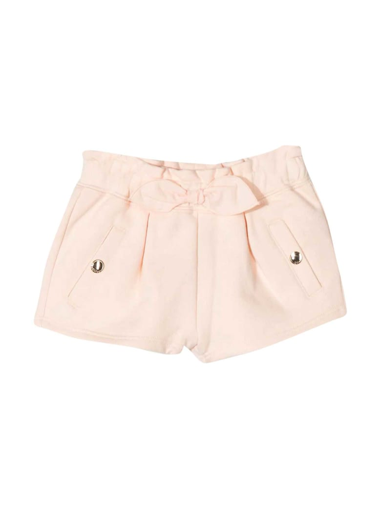 Chloé Pink Shorts Chloé Kids With Bow - Rosa