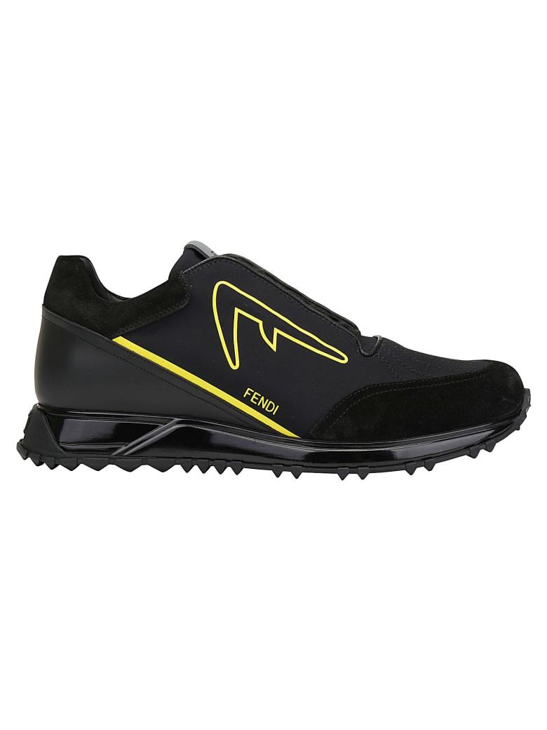 Fendi Sneakers - Nero/lemon