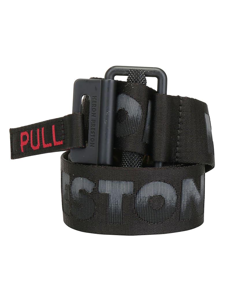 HERON PRESTON Tape Belt - Black mult
