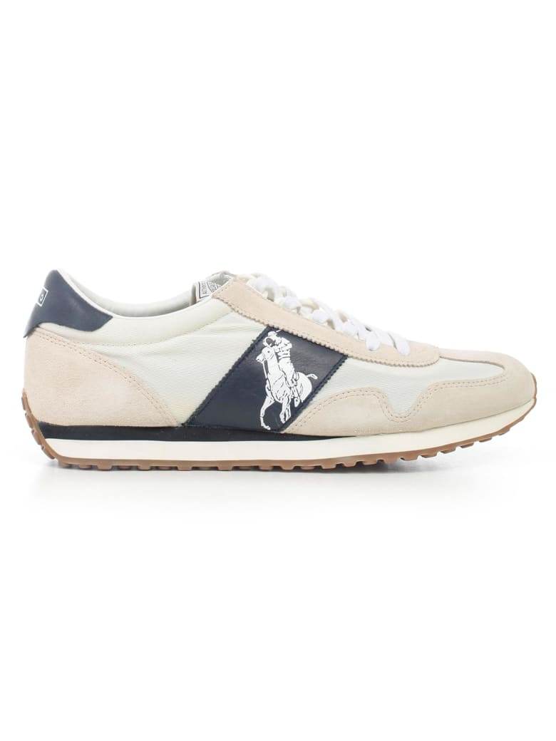 reputable site 71188 fba86 Best price on the market at italist   Polo Ralph Lauren Polo Ralph Lauren  Sneakers Suede