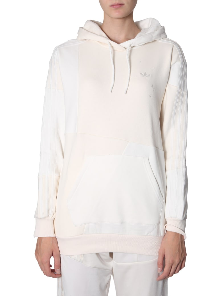 Adidas Originals by Daniëlle Cathari Hooded Sweatshirt - BIANCO