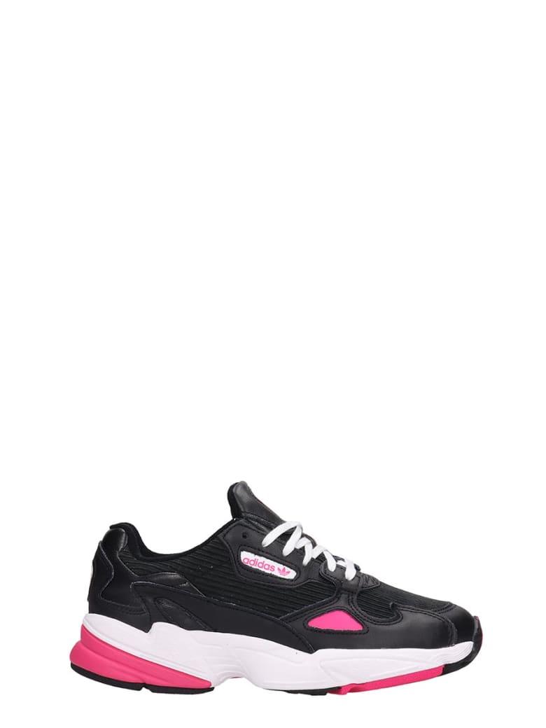 Adidas Flacon W Sneakers In Black Tech/synthetic - black