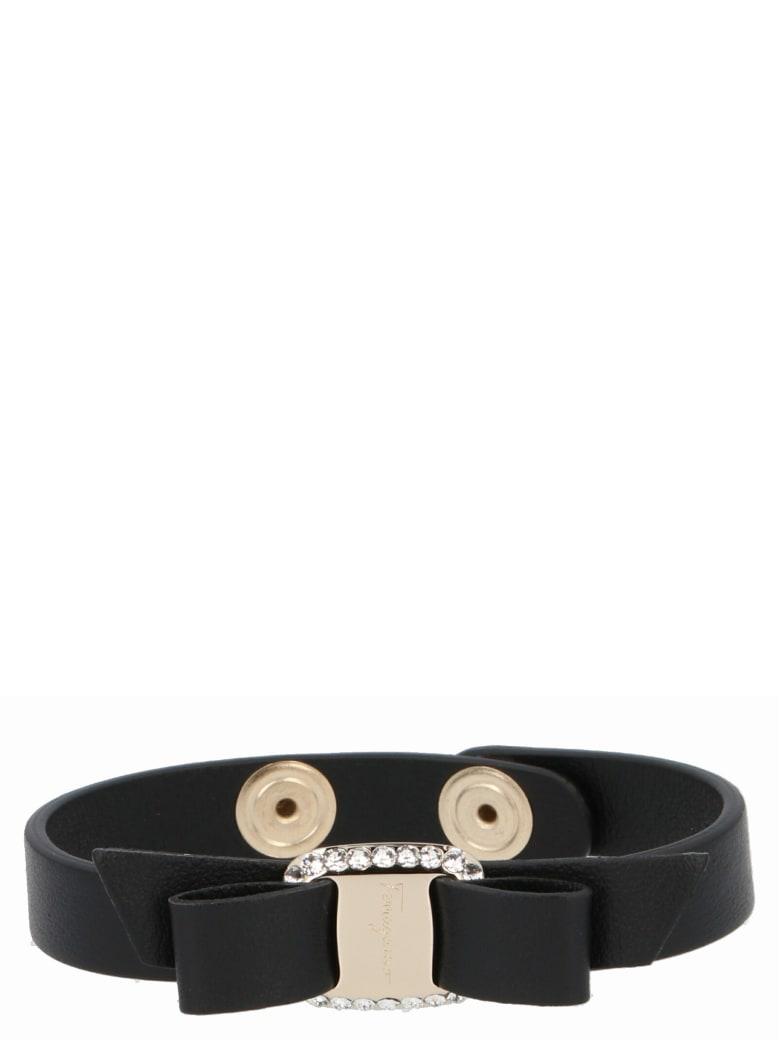 Salvatore Ferragamo 'vara' Bracelet - Black