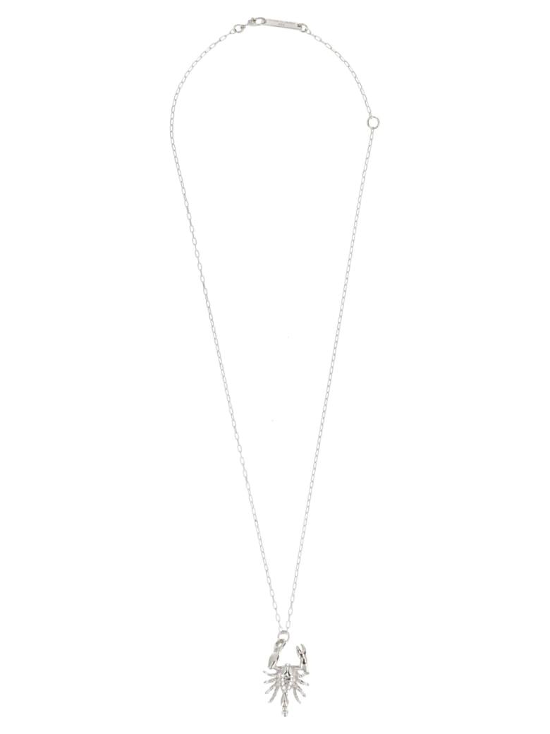 AMBUSH 'scorpion' Neckline - Silver