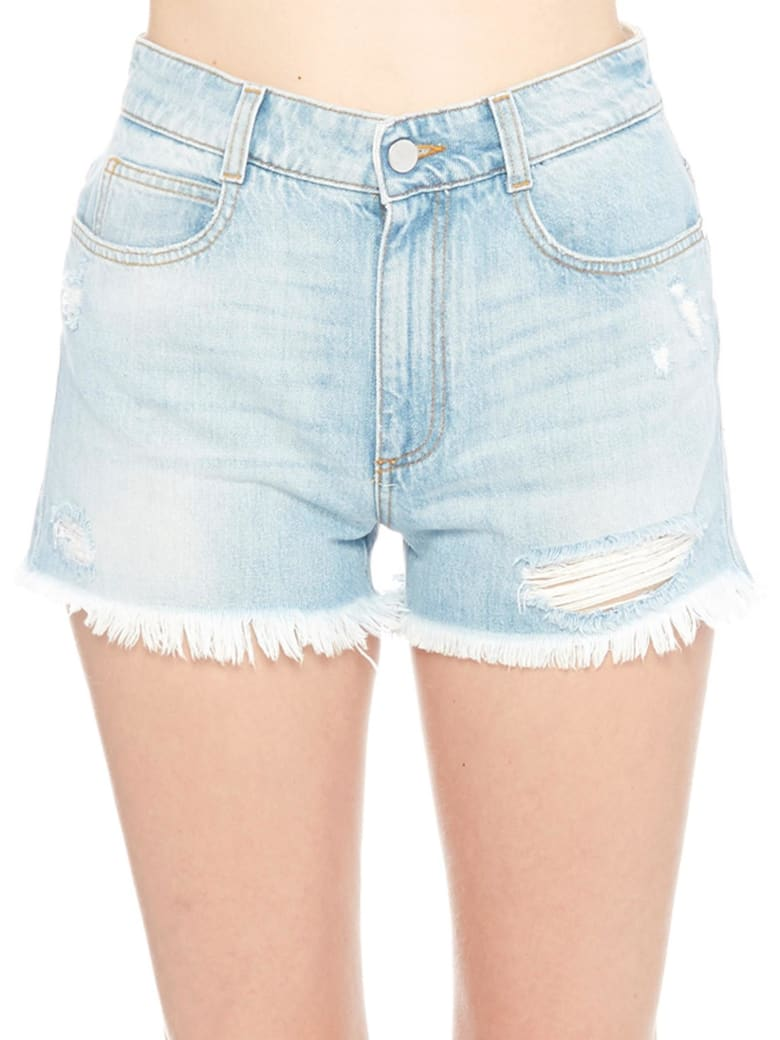 Stella McCartney Shorts - Light blue