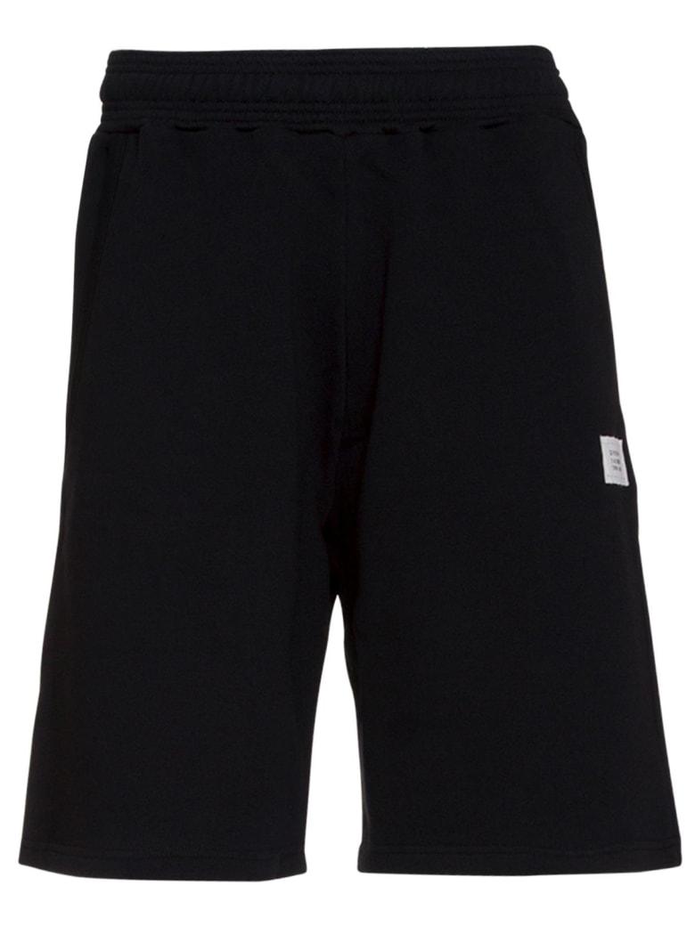 Givenchy Logo Patch Track Shorts - NERO