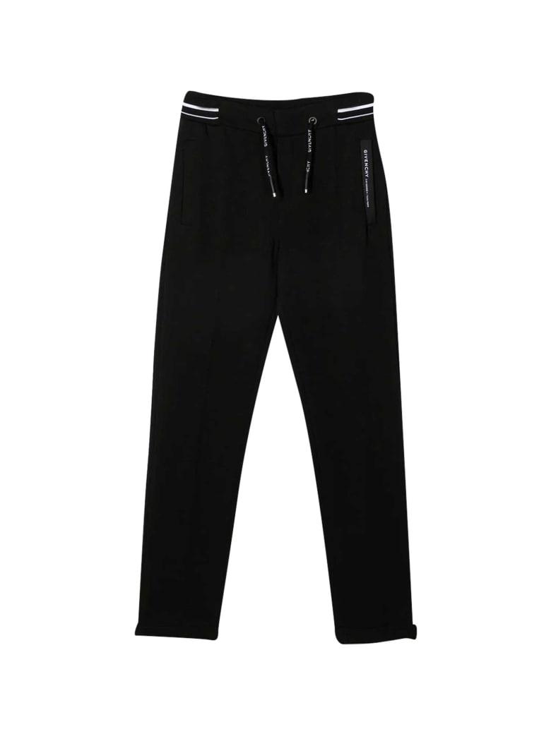Givenchy Black Joggers Teen - Nero