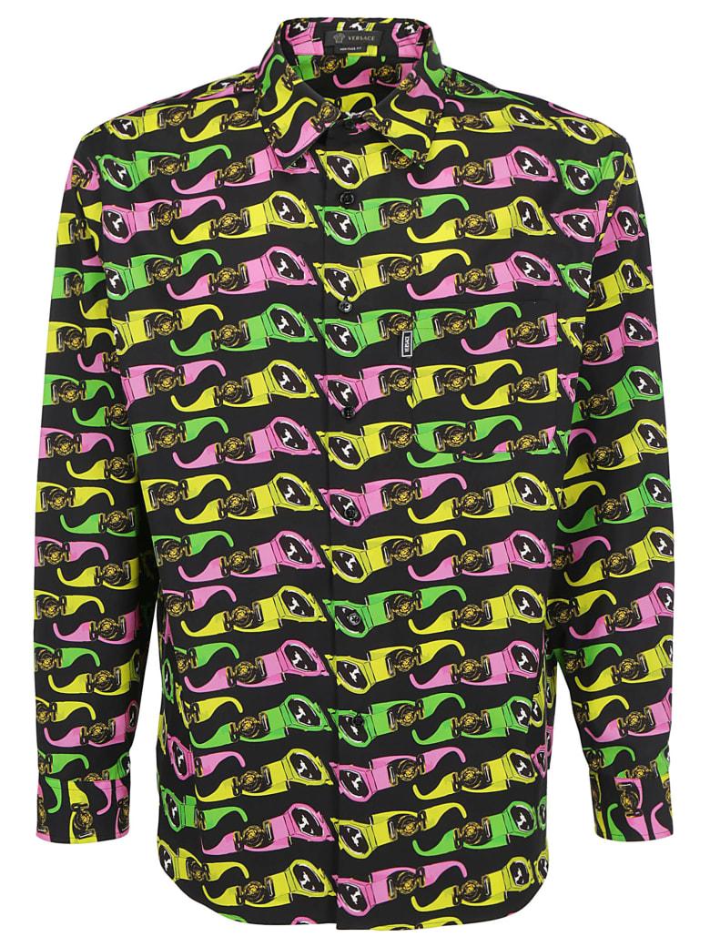 Versace Shirt - Nero multicolor