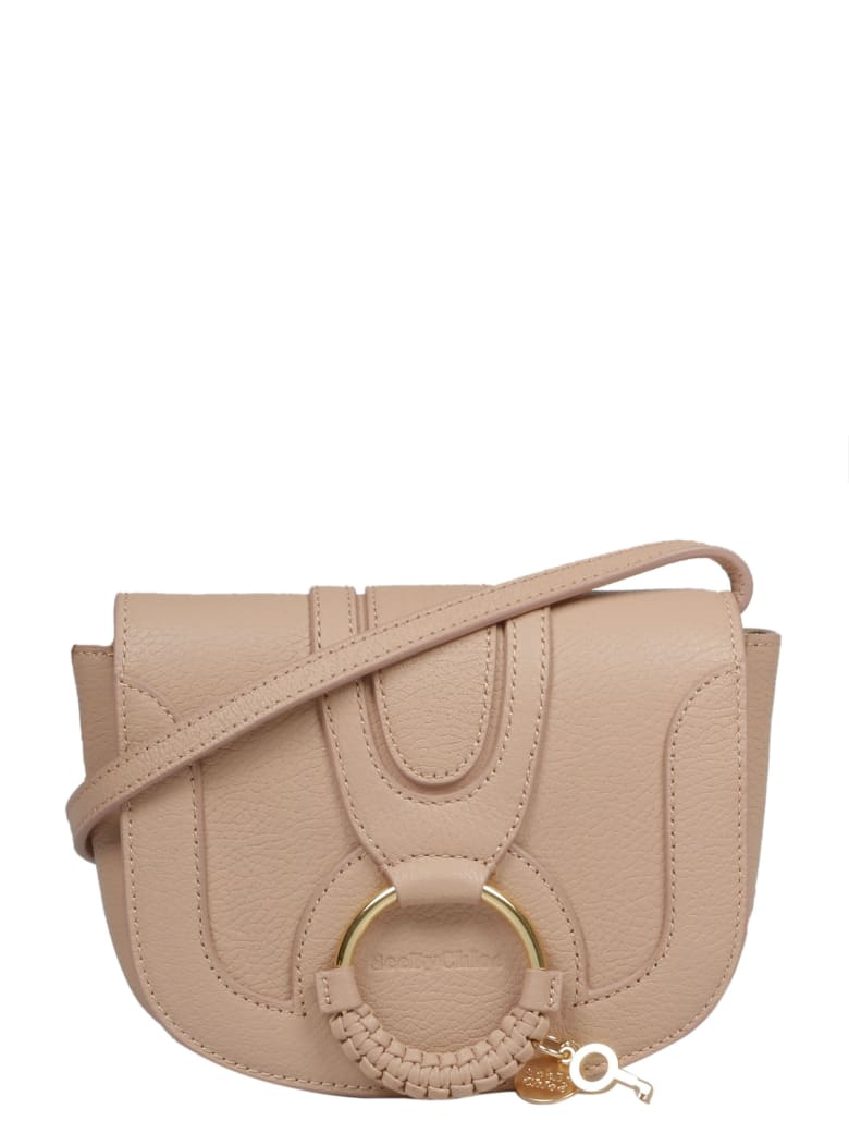 See by Chloé Small Hana Shoulder Bag - Nude & Neutrals