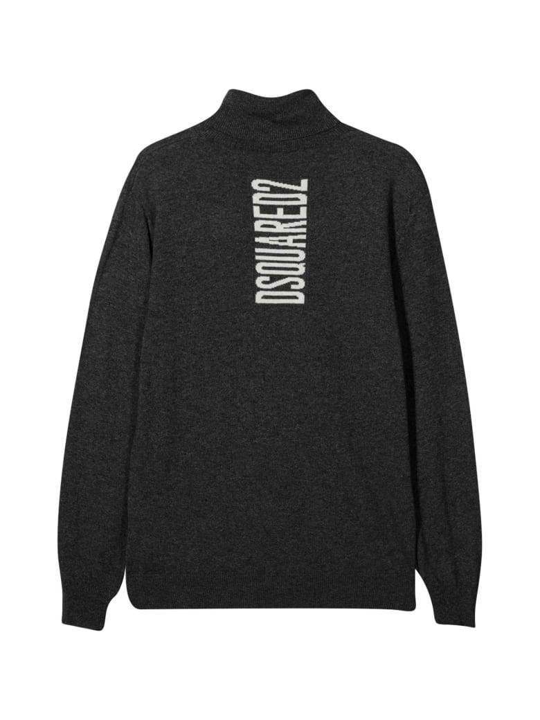 Dsquared2 Dark Gray Sweater Teen - Unica