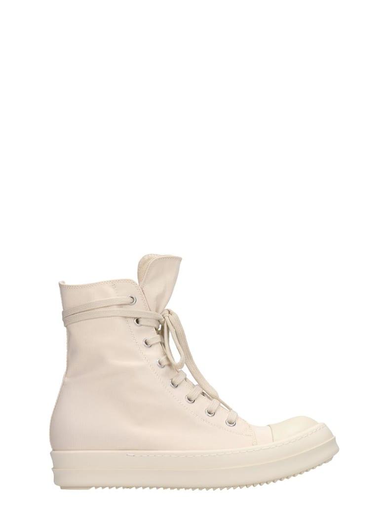 DRKSHDW White Fabric Snekaers - beige