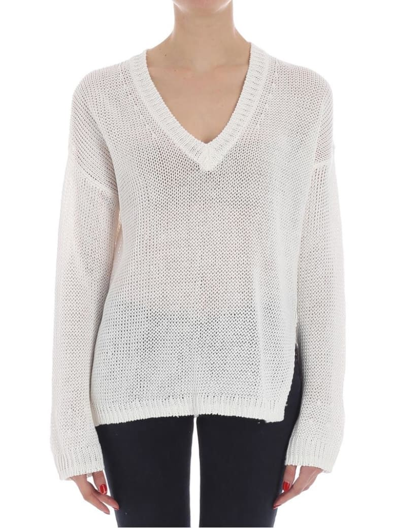 360 Sweater 360 Cashmere - Noelle Sweater - White