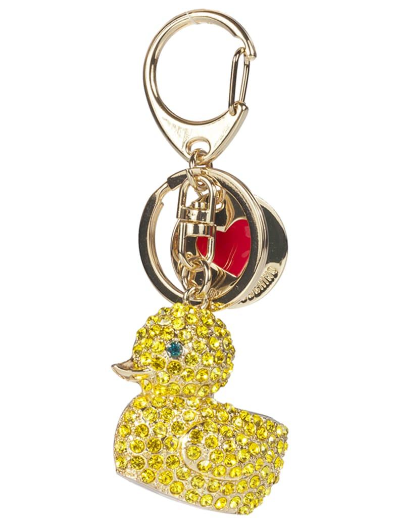 Love Moschino Duck Keyring - Metal gold