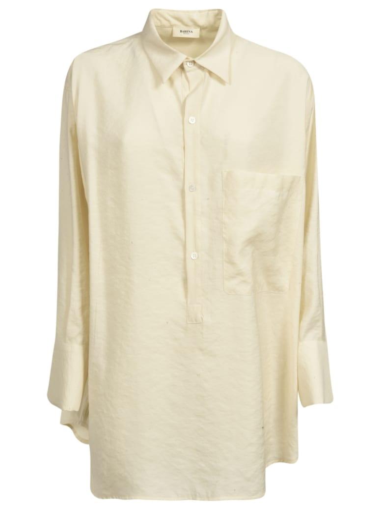 Barena Oversized Shirt - Off-White