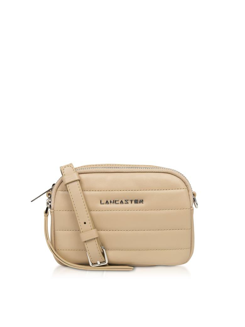Lancaster Paris Parisienne Couture Mini Crossbody Bag - Nude