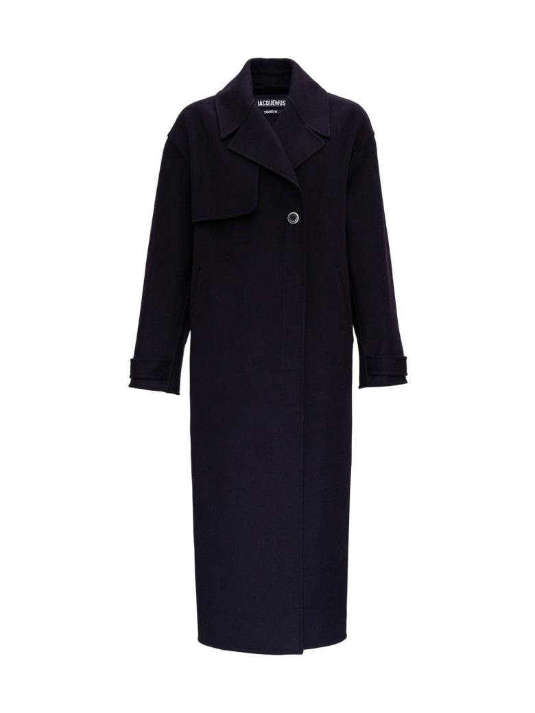 Jacquemus Le Manteau Sabe Coat - Blu