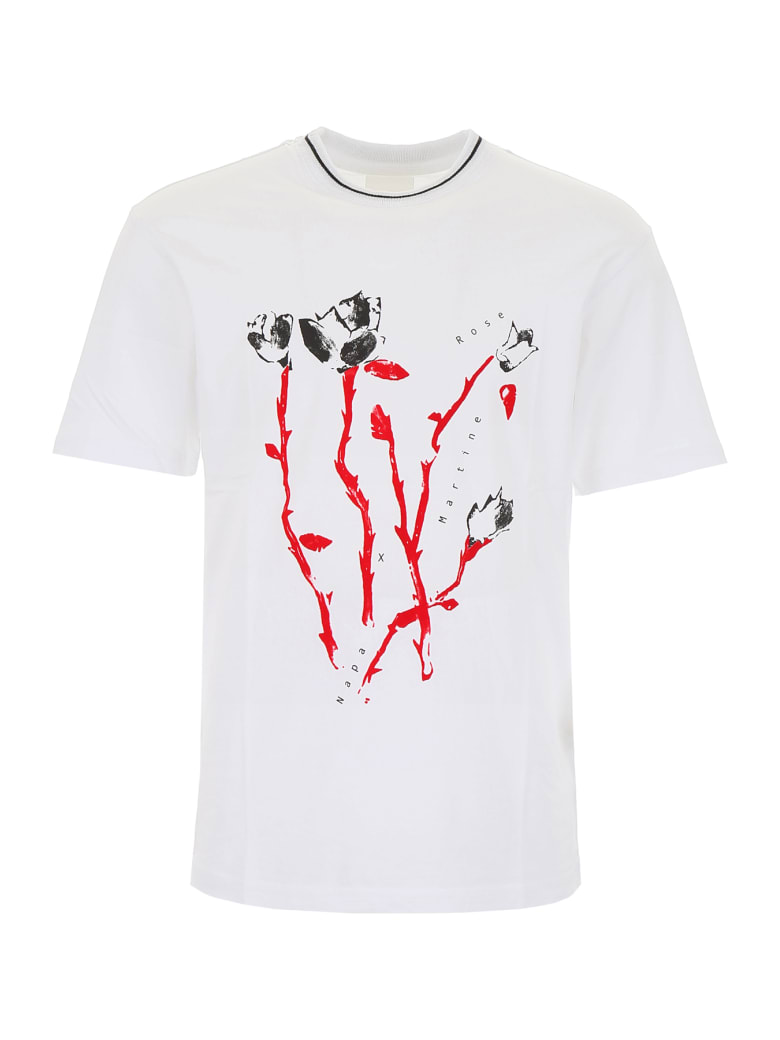 Napa By Martine Rose Osorno T-shirt - BRIGHT WHITE (White)
