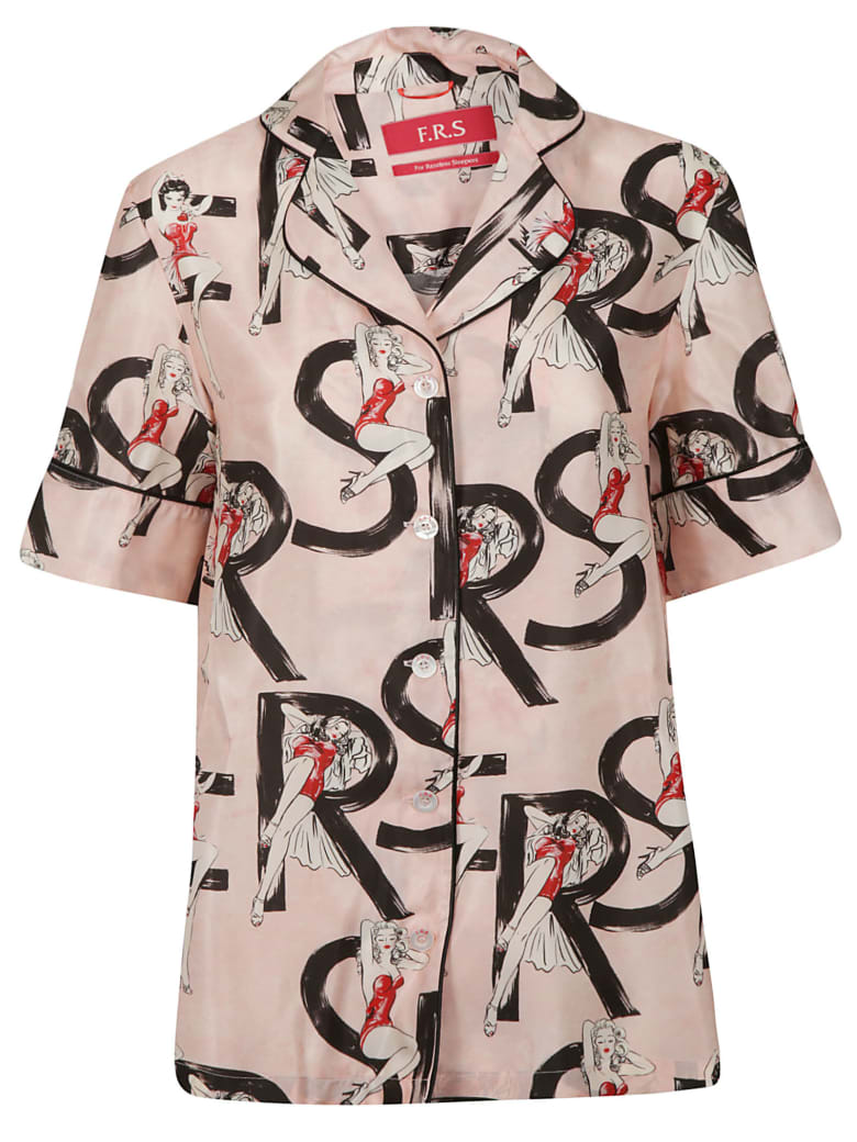 For Restless Sleepers Printed Shirt - Fdo Rosa