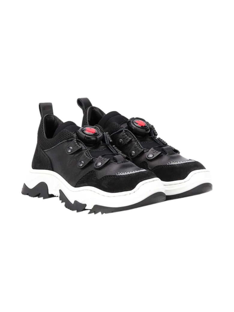 Dsquared2 Chunky Black Sneakers - Nero
