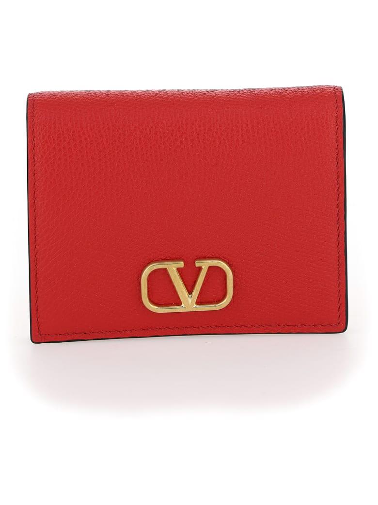Valentino Garavani Wallet - Rouge pur