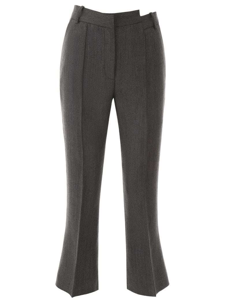 Rokh Distorted Trousers - DIM GREY (Grey)