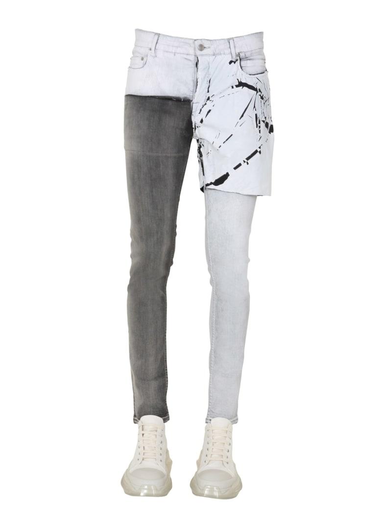 Rick Owens Denim Jeans - BIANCO