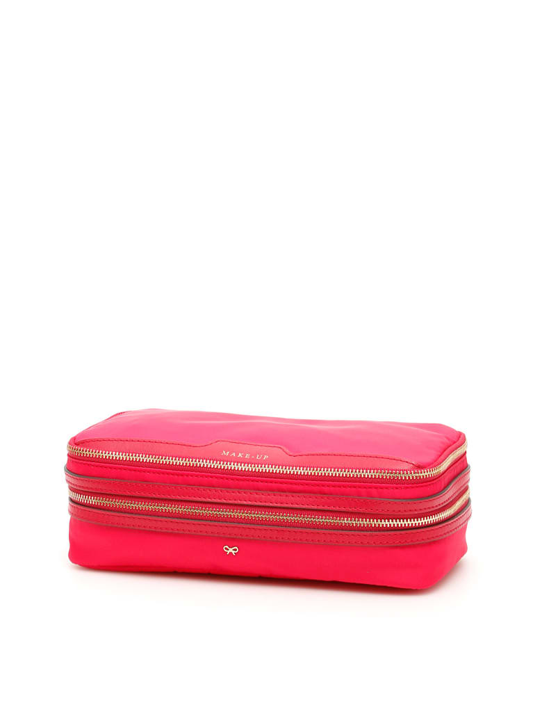 Anya Hindmarch Make-up Case - HOT PINK BERRY (Fuchsia)