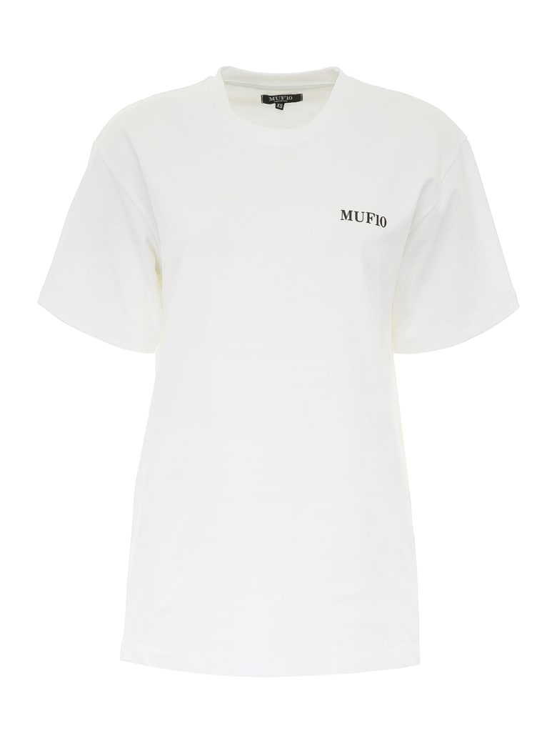MUF10 Emblem T-shirt - WHITE (White)