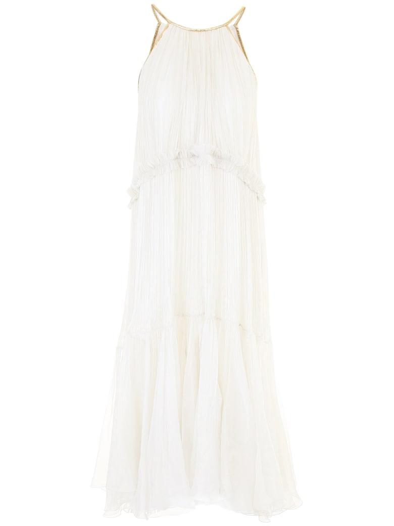 Maria Lucia Hohan Kassia Dress - PLATINUM (White)