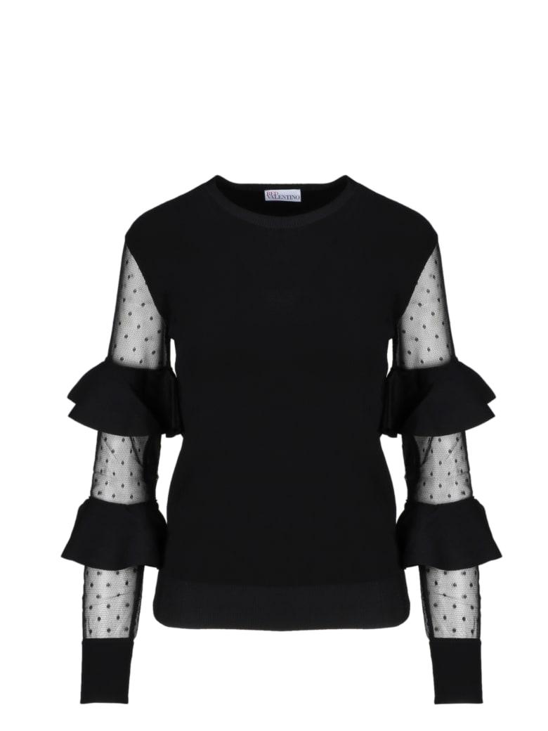 RED Valentino Sweater - Black