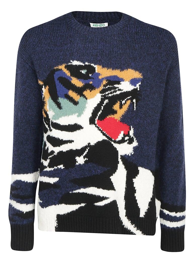 Kenzo Tiger Sweater - Blue